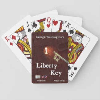 George Washington's Liberty Key Playing Cards