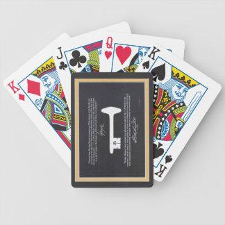 George Washington's Liberty Key Poker Playing Card