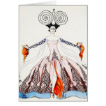 Georges Barbier Art Deco Fashion Greeting Card