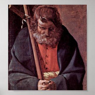Georges de La Tour - St Philip Poster