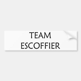 Georges Escoffier, chef célèbre Autocollants Pour Voiture