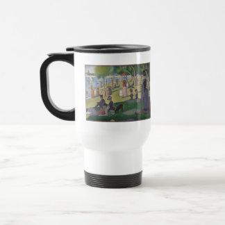 Georges Seurat 15 Oz Stainless Steel Travel Mug
