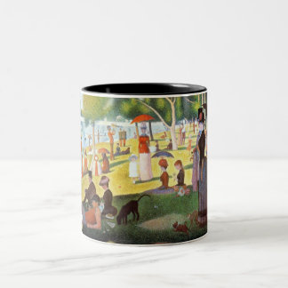 georges seurat - a sunday afternoon fine art mug