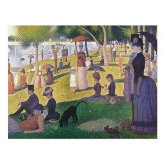 Georges Seurat - A Sunday on La Grande Jatte Postcard
