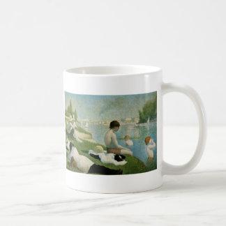 Georges Seurat Basic White Mug