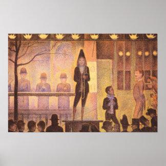 Georges Seurat-Circus parade Poster