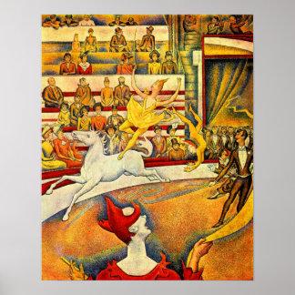 Georges Seurat-Circus Poster
