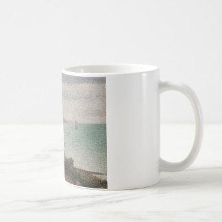 Georges Seurat - Grandcamp, Evening Coffee Mug