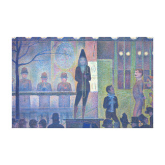 Georges Seurat Parade de Cirque Canvas Print