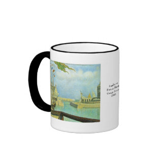 Georges Seurat Ringer Coffee Mug