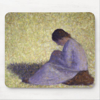 Georges Seurat - Seated Woman Mouse Pad