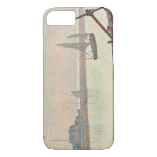 Georges Seurat - The Channel at Gravelines iPhone 7 Case
