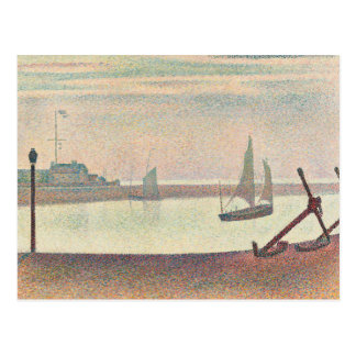 Georges Seurat - The Channel at Gravelines Postcard