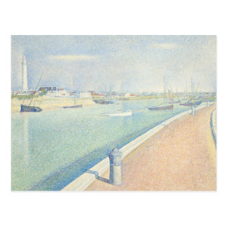 Georges Seurat - The Channel of Gravelines Postcard
