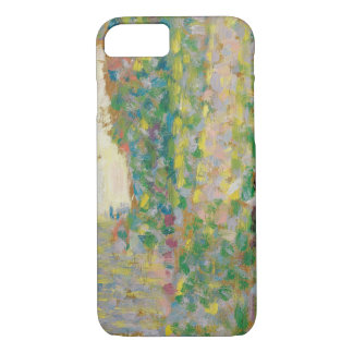 Georges Seurat - The Seine at Courbevoie iPhone 7 Case