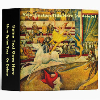 Georges Seurat's The Circus (1891) Binder