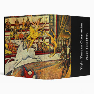 Georges Seurat's The Circus (1891) Binders