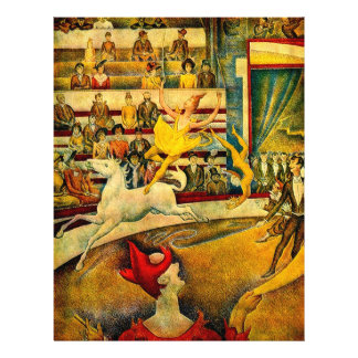 Georges Seurat's The Circus (1891) Flyer
