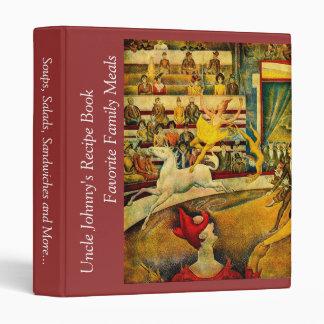 Georges Seurat's The Circus (1891) Vinyl Binders