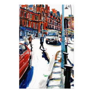 georges st dublin stationery paper