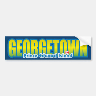 Georgetown Bumper Bumper Sticker