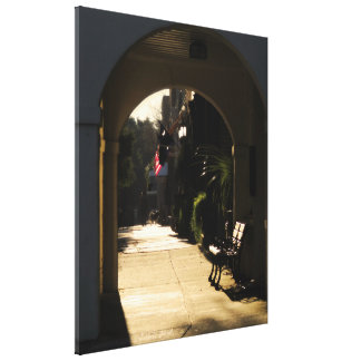 Georgetown Front Winter Morning Canvas Print