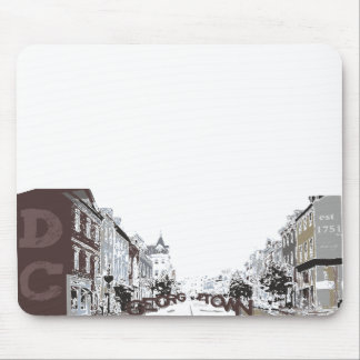 GEORGETOWN IN WASHINGTON, DC MOUSE PAD