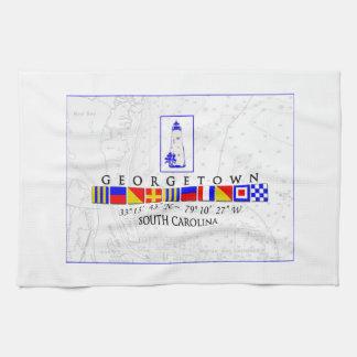 Georgetown SC Marine Signal Flag Towel