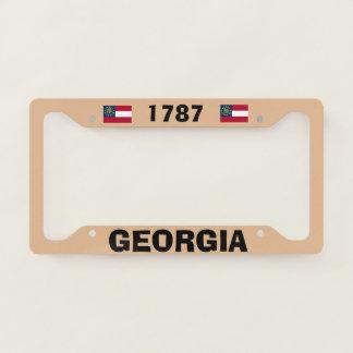 Georgia 1787 License Plate Frame