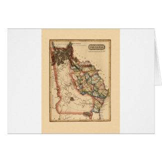 Georgia 1817 card