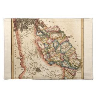 Georgia 1817 placemat