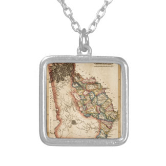 Georgia 1817 silver plated necklace