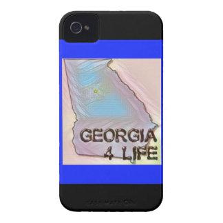 """Georgia 4 Life"" State Map Pride Design iPhone 4 Cover"