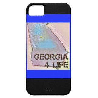 """Georgia 4 Life"" State Map Pride Design iPhone 5 Case"