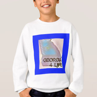 """Georgia 4 Life"" State Map Pride Design Sweatshirt"
