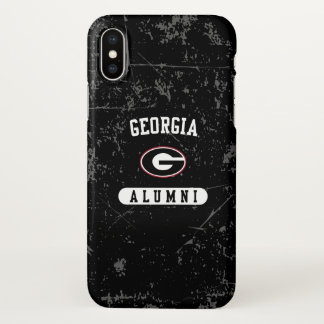 Georgia Alumni | Grunge iPhone X Case