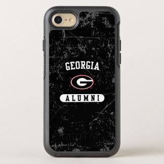 Georgia Alumni | Grunge OtterBox Symmetry iPhone 8/7 Case