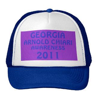 GEORGIA, ARNOLD CHIARI , AWARENESS 2011 TRUCKER HAT