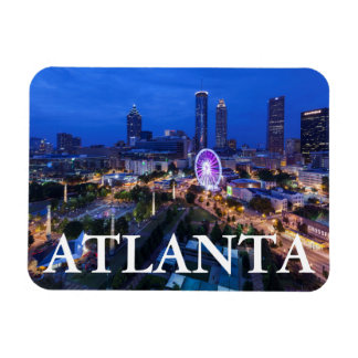 Georgia, Atlanta, Centennial Olympic Park Rectangular Photo Magnet