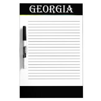 Georgia Azalea Dry Erase Boards