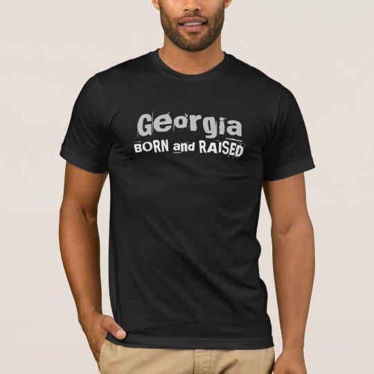 Georgia BORN and RAISED T-Shirt