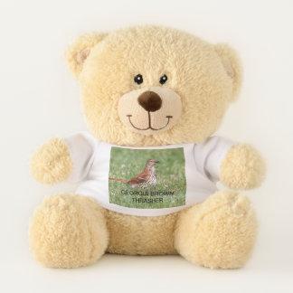 Georgia Brown Thrasher Teddy Bear