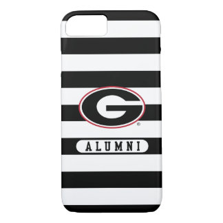 Georgia Bulldogs Alumni | Stripes iPhone 8/7 Case