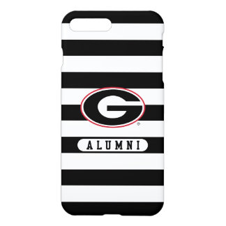 Georgia Bulldogs Alumni | Stripes iPhone 8 Plus/7 Plus Case