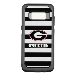 Georgia Bulldogs Alumni | Stripes OtterBox Commuter Samsung Galaxy S8 Case