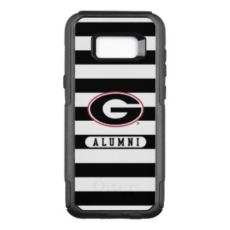 Georgia Bulldogs Alumni | Stripes OtterBox Commuter Samsung Galaxy S8+ Case