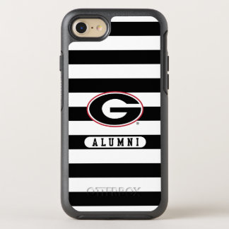 Georgia Bulldogs Alumni | Stripes OtterBox Symmetry iPhone 8/7 Case