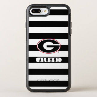 Georgia Bulldogs Alumni | Stripes OtterBox Symmetry iPhone 8 Plus/7 Plus Case