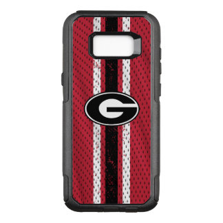 Georgia Bulldogs Logo | Jersey OtterBox Commuter Samsung Galaxy S8+ Case