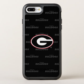 Georgia Bulldogs Logo | Watermark Pattern OtterBox Symmetry iPhone 8 Plus/7 Plus Case
